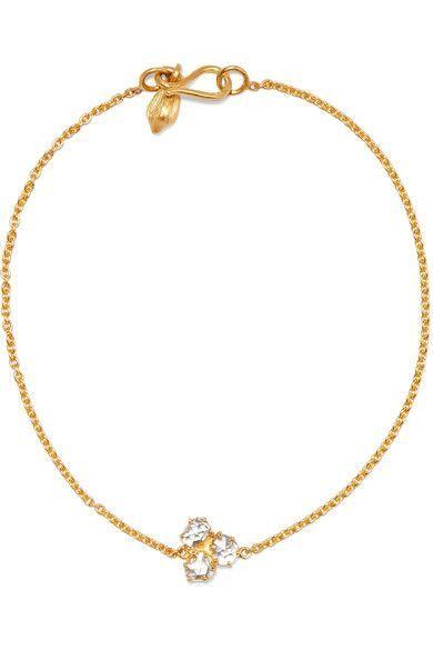 18-karat Gold Diamond Bracelet - one size Pippa Small ybIJy