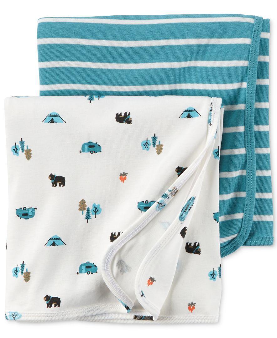 Large Swaddling Blanket Sports Flannel Receiving Blanket
