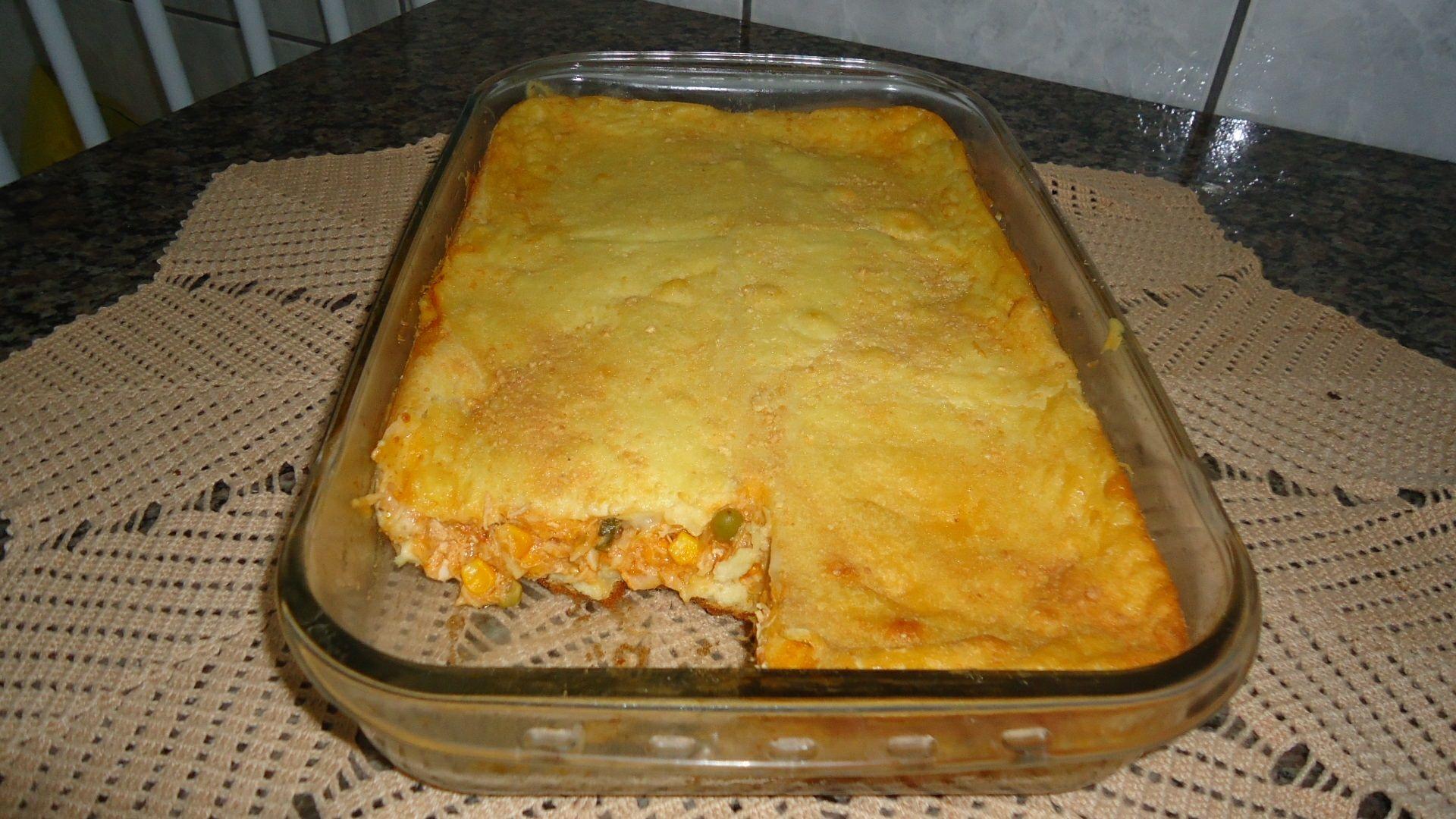 Receita de Torta salgada de liquidificador. Enviada por Rodriggo Silva e demora apenas 50 minutos.