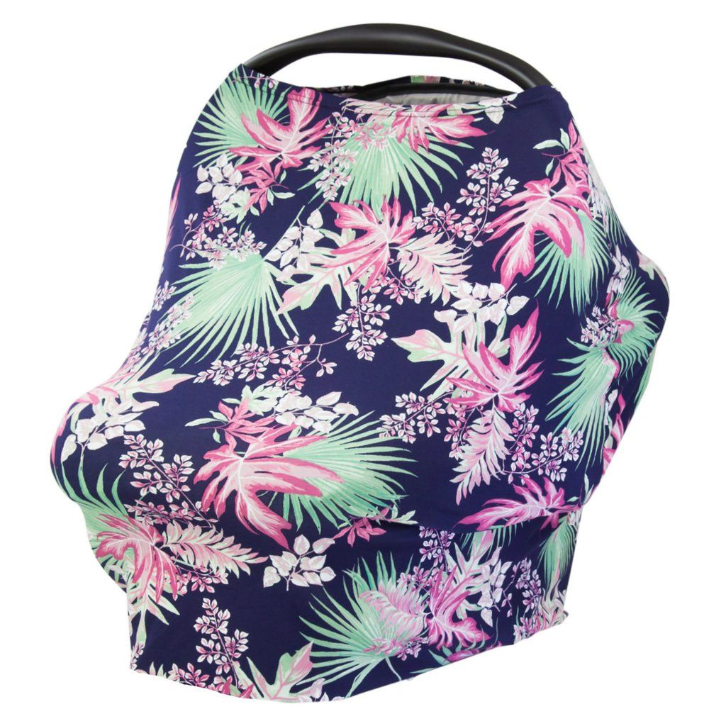 TROPICAL PALM - Multi Use Baby Car Seat Canopy and Nursing Cover  sc 1 st  Pinterest : universal car seat canopy - memphite.com