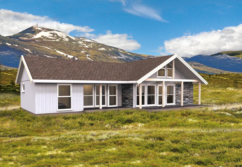 Photo of Rype fjellhytte   Ferdighytte   Hus og Hyttebyggerne