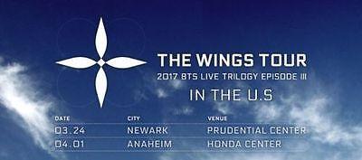BTS Wings Tour - P1 GA PIT Ticket - ANAHEIM 4/1 https://t.co/dpYwRYR5Ob https://t.co/oJW2XEuUnS