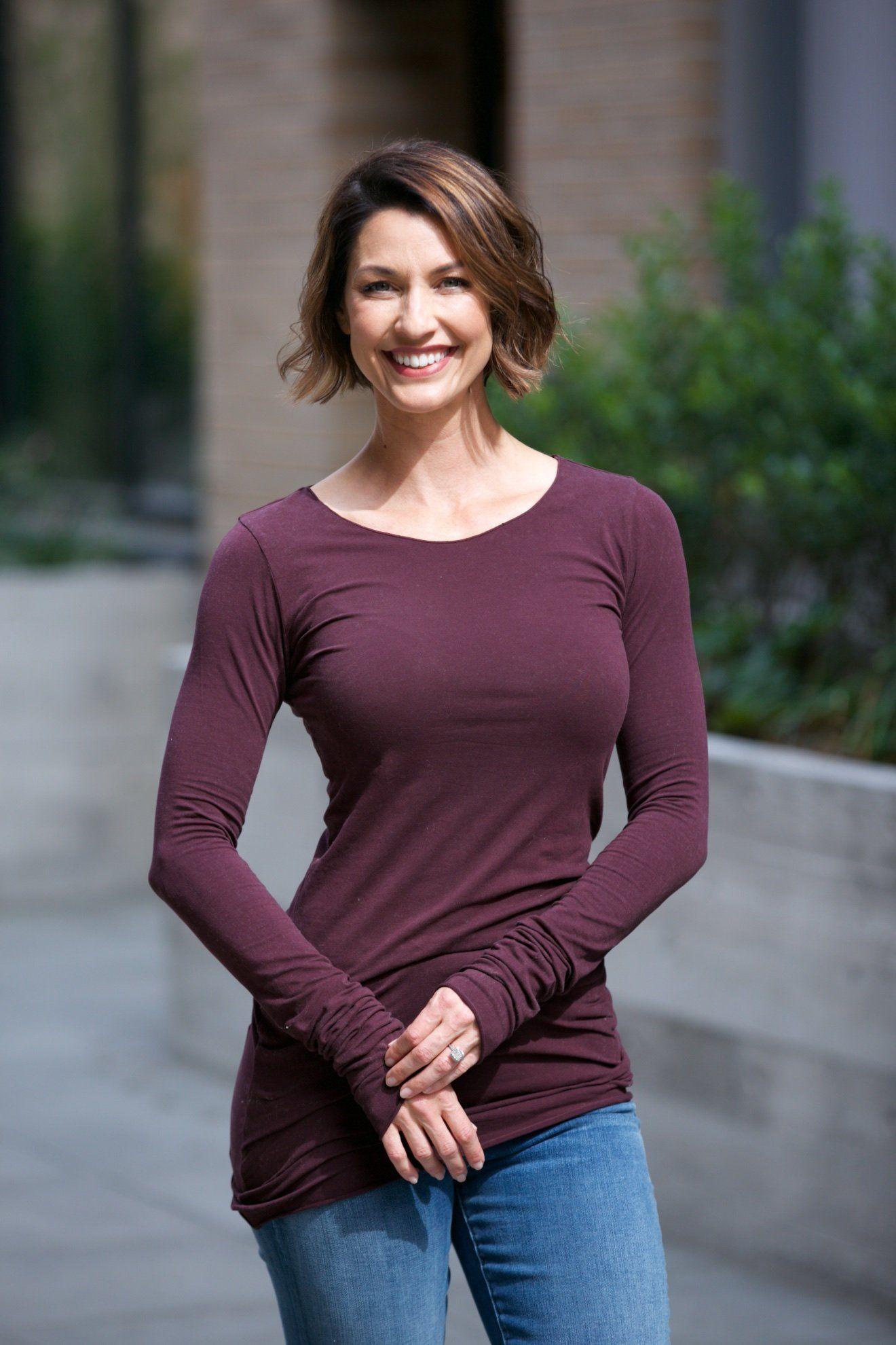 Hard Tail Long Skinny Tee - Fall | Skinny tees, Women