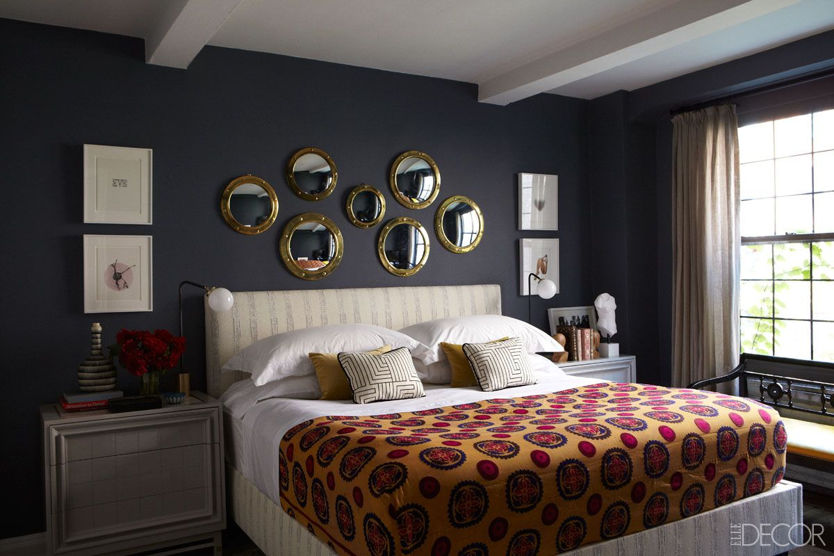 The apartement of a top model in Manhattan    Despite her succes as a model, Tamzin never forgot her first love, decorating, and in her Manhattan apartment she puts her passion on full display..
