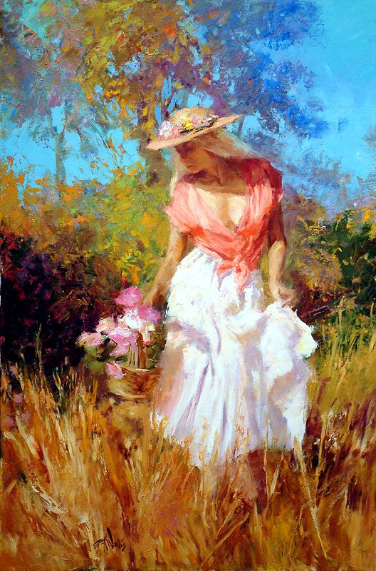 eric wallis 1968 wallis impressionist and figurative