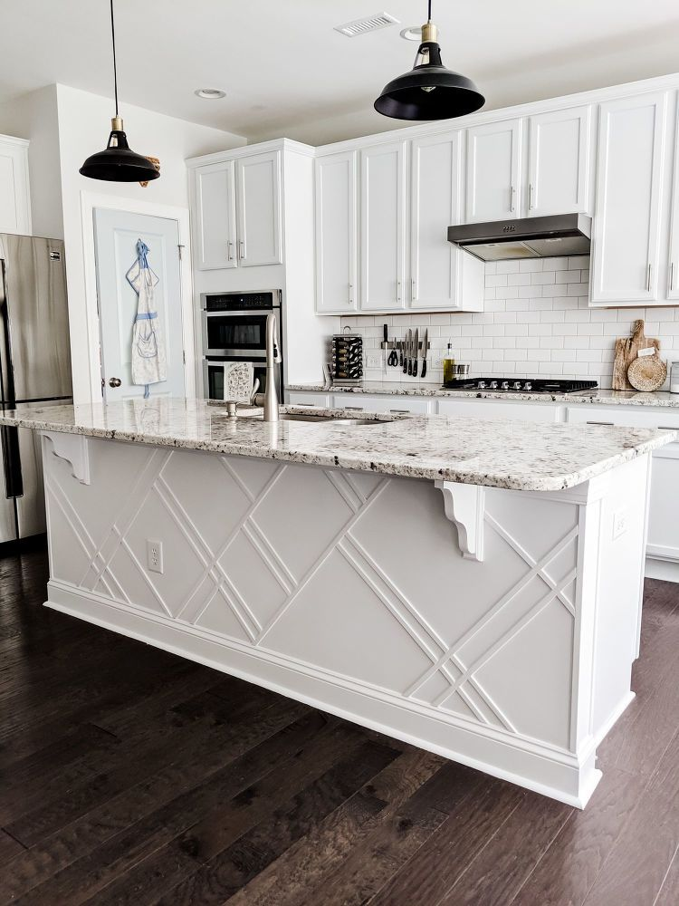 How to Upgrade a Builder Grade Kitchen Island #furnitureredos
