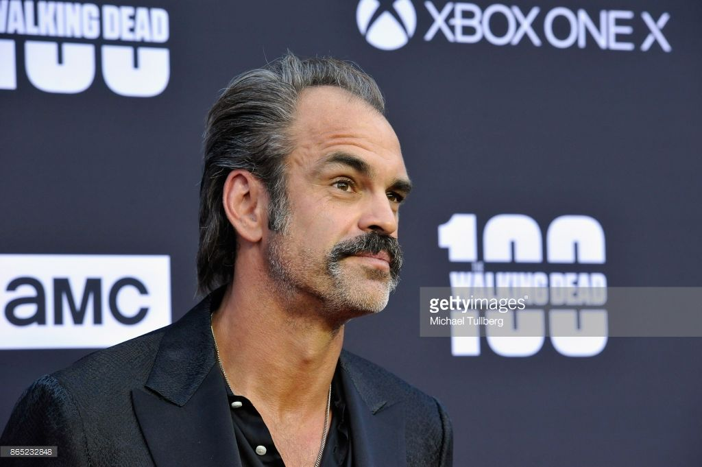 Actor steven ogg attends amcs celebration of the 100th