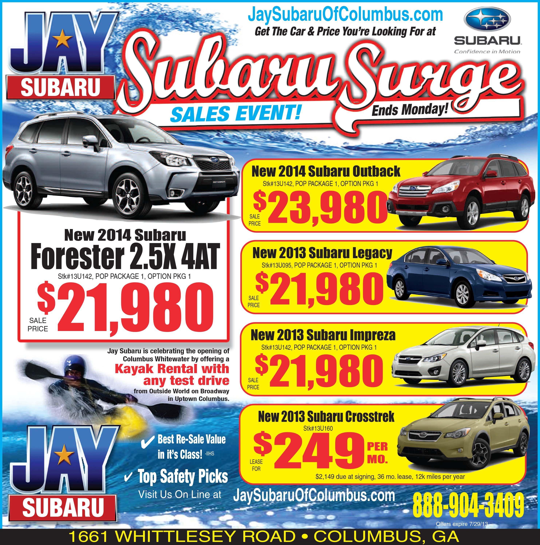 Subaru 1 2 Page Newspaper Ad Newspaper Layout Subaru Subaru Legacy