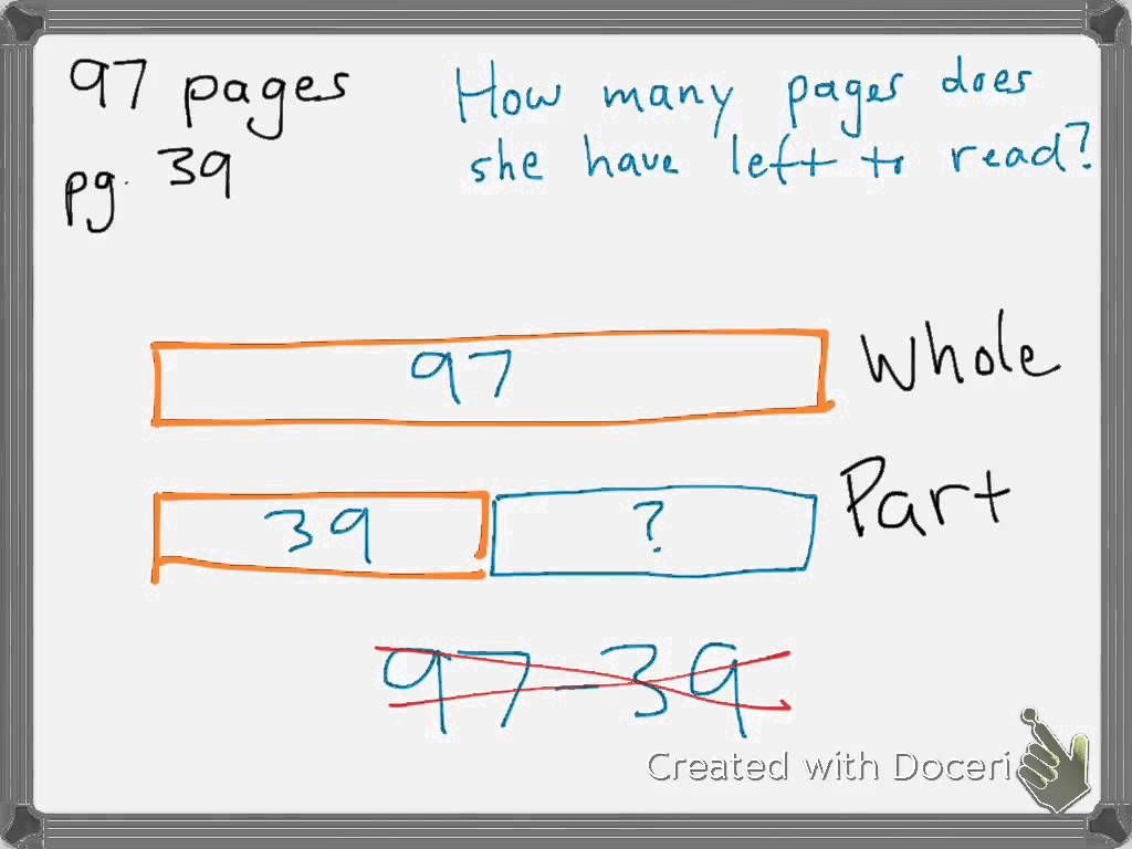 Tape Diagram Subtraction Youtube Shows Adding 1 To Both Minuend And Subtrahend To Create A Friendly Number Worksheets Subtraction Grade
