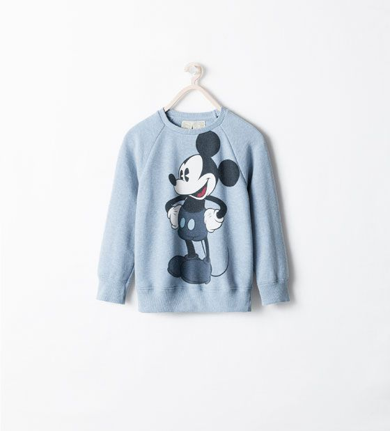 DISNEY SWEATSHIRT from Zara | Sweatshirts, Girl ...