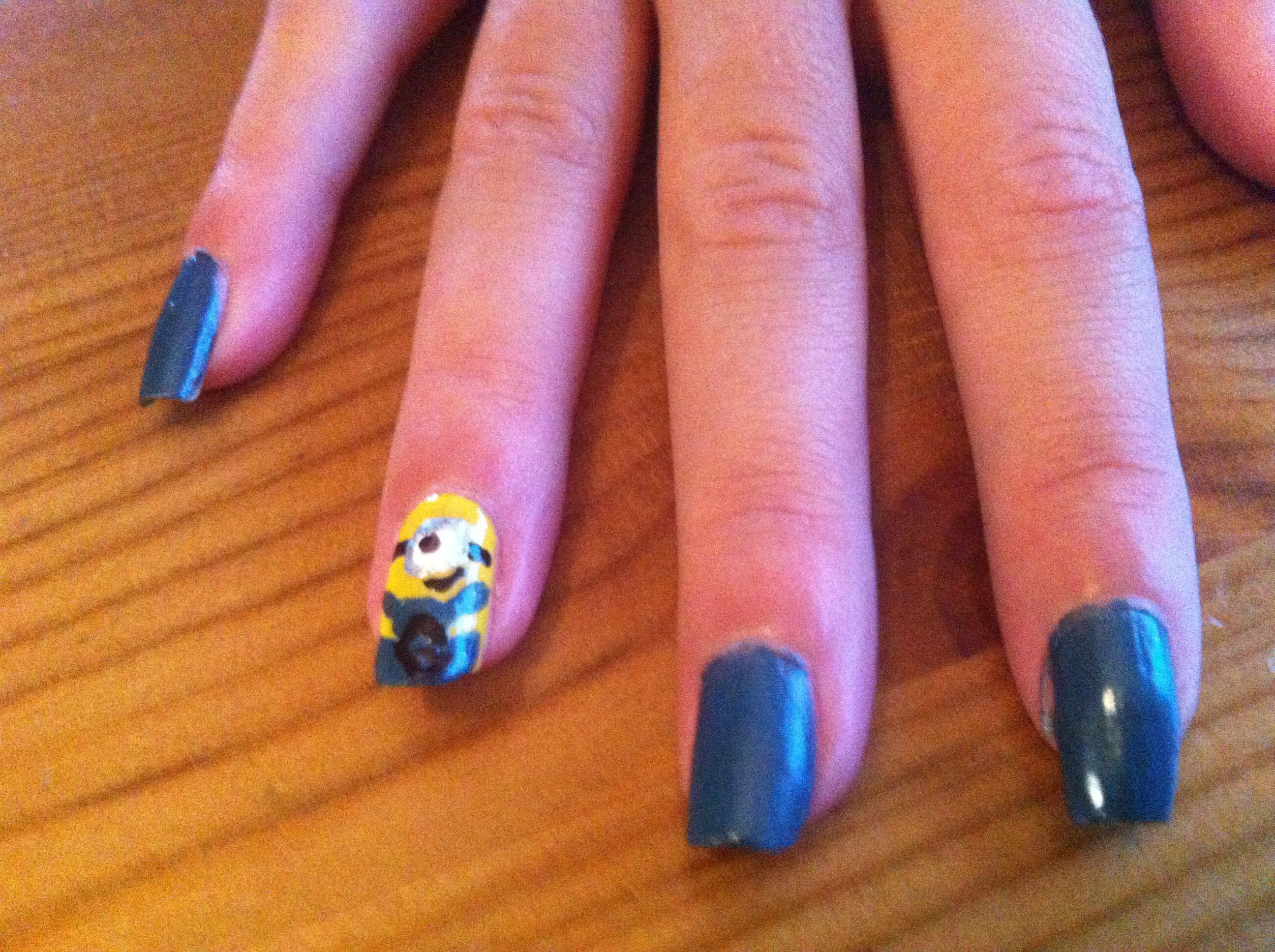 Contemporary Despicable Me Nails Picture Collection - Nail Paint ...