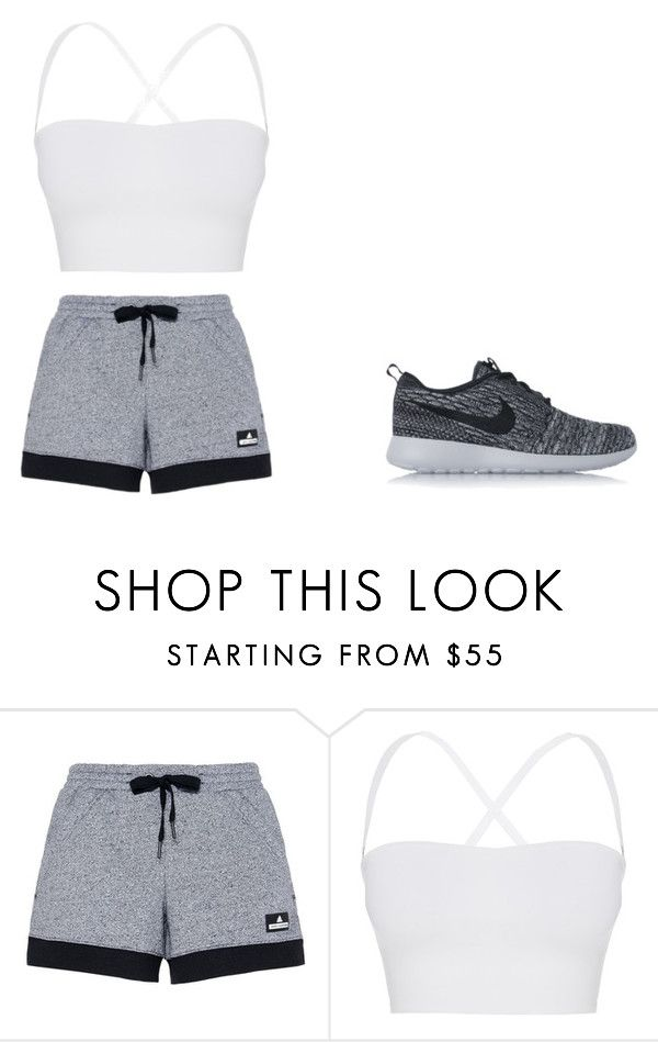 """""""Untitled #14"""" by stormydavis623 ❤ liked on Polyvore featuring adidas, Theory and NIKE"""