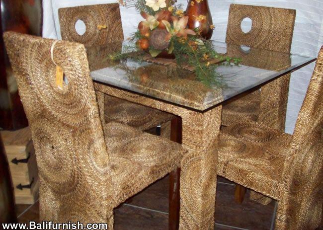 Wofi10 2 Seagrass Dining Furniture Bali (650×