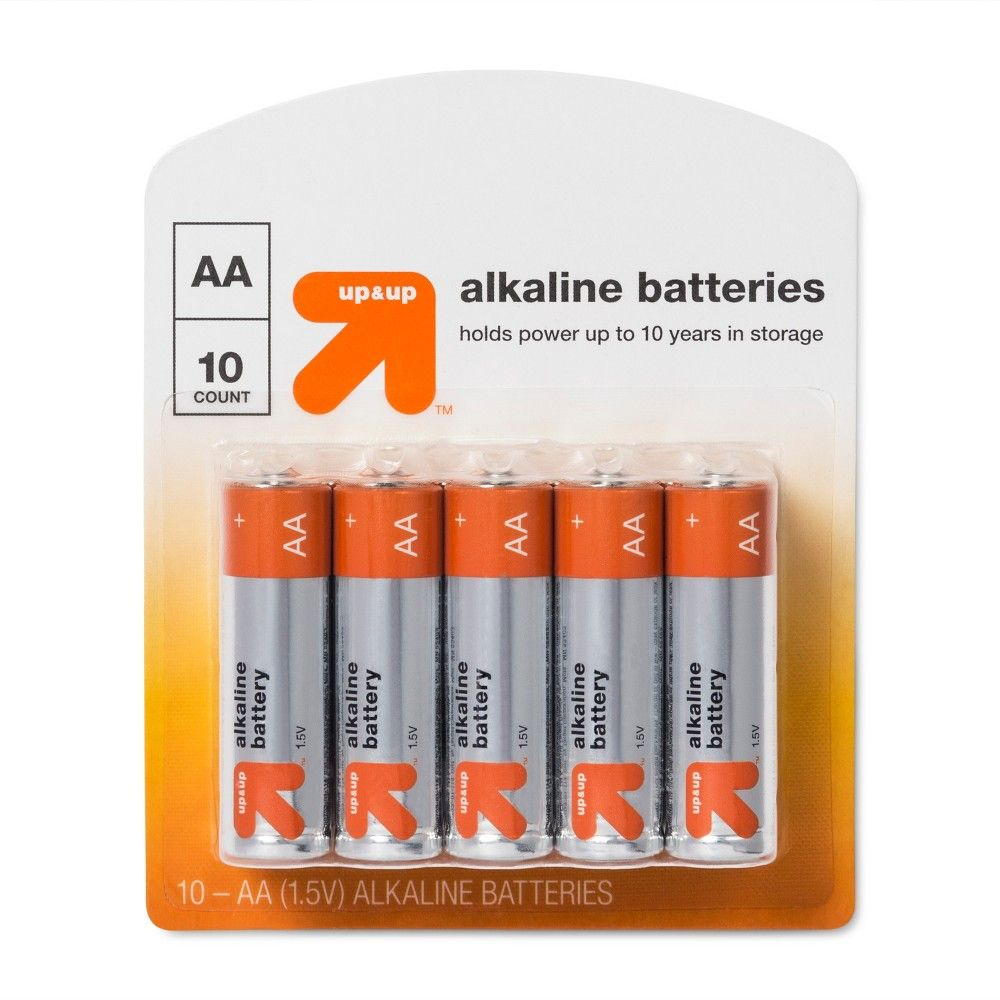 Aa Batteries 10ct Up Up In 2021 Batteries Up Up Aa Batteries