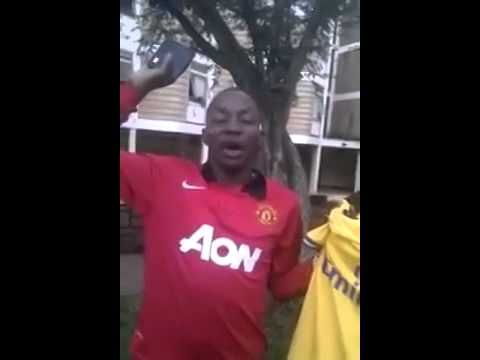 Manchester United Fan Betrays to follow Arsenal