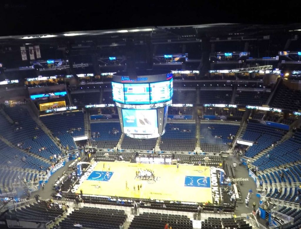 Amway Center Section 224 Seat Views Seatgeek Pertaining To Amway