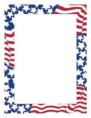 Stars and Stripes Flag Design Specialty Paper - ClipArt Best