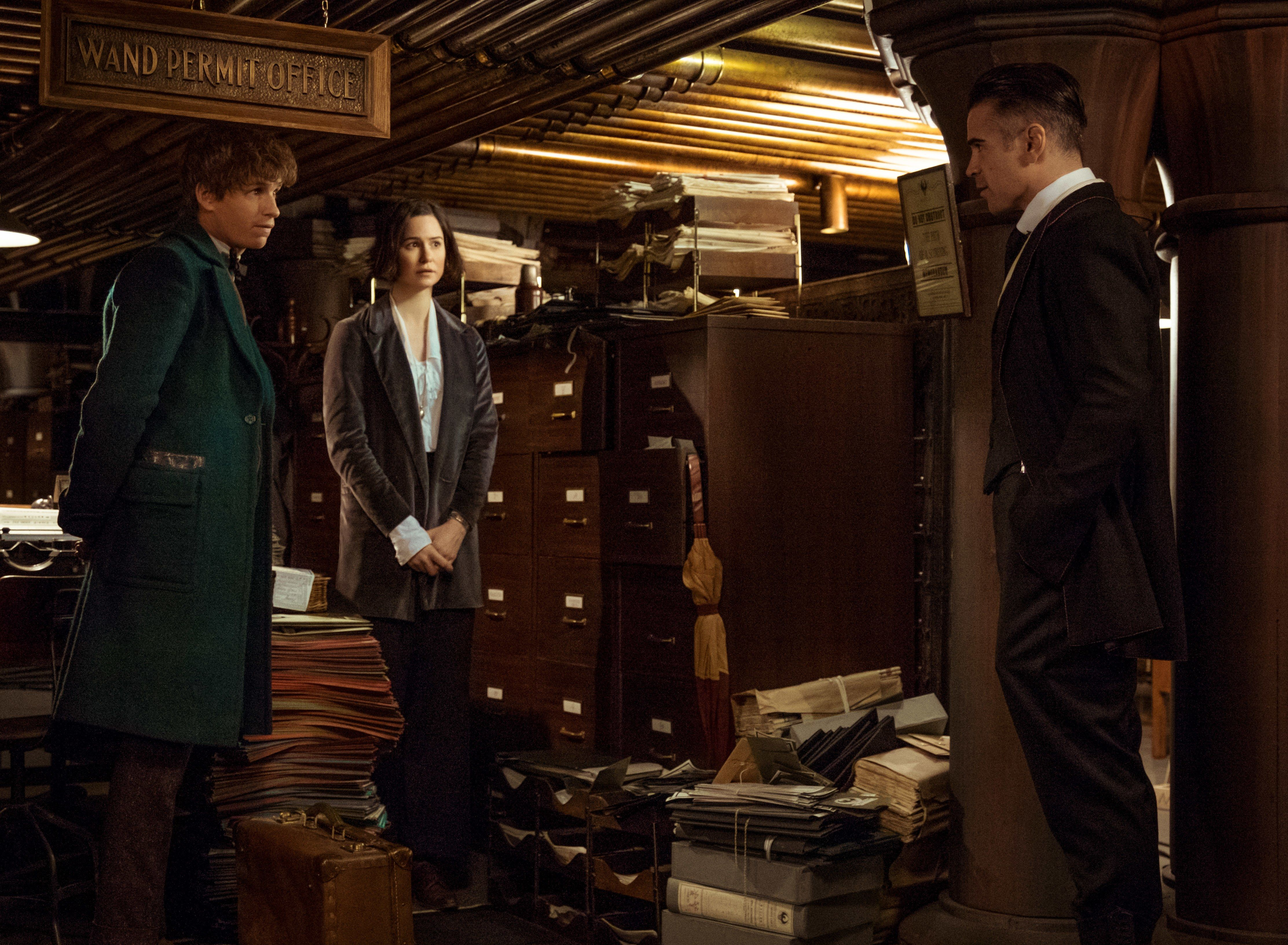 Fantastic Beasts and Where to Find Them Set Designs Photos ...