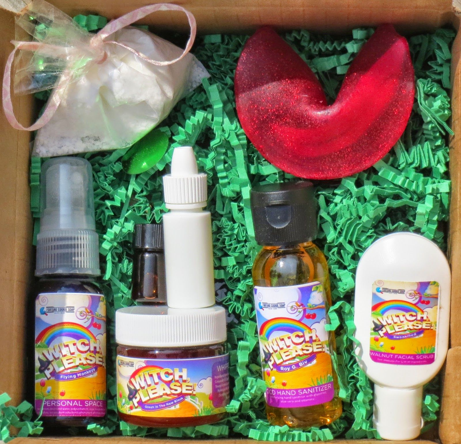 Fortune Cookie Soap Witch Please Fall Box 2014 Subscription