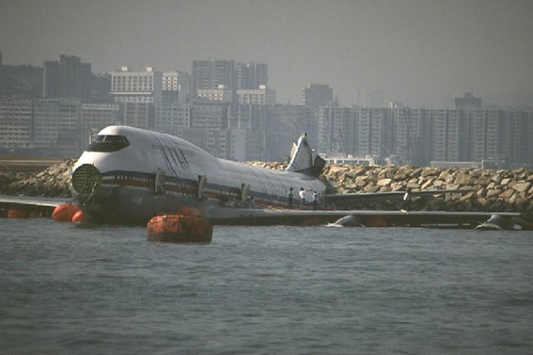 Water Landings China Airlines Flight 605 1993 Overran