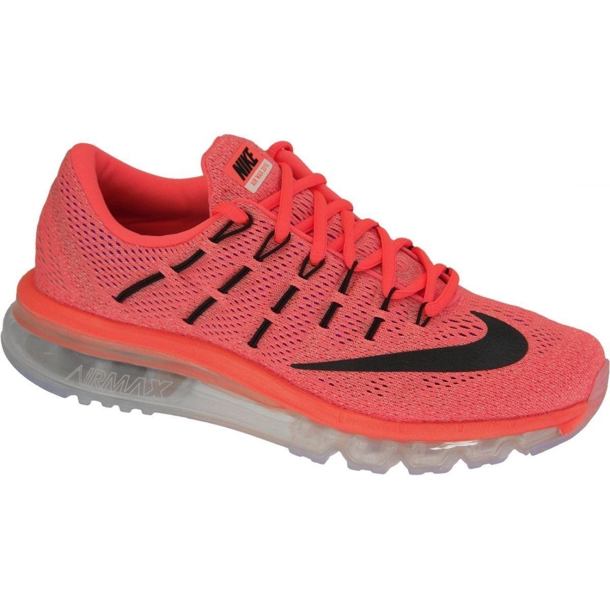 Buty Nike Air Max 2016 W 806772 800 Czerwone Nike Air Max 2016 Nike Air Max Nike Shoes Women