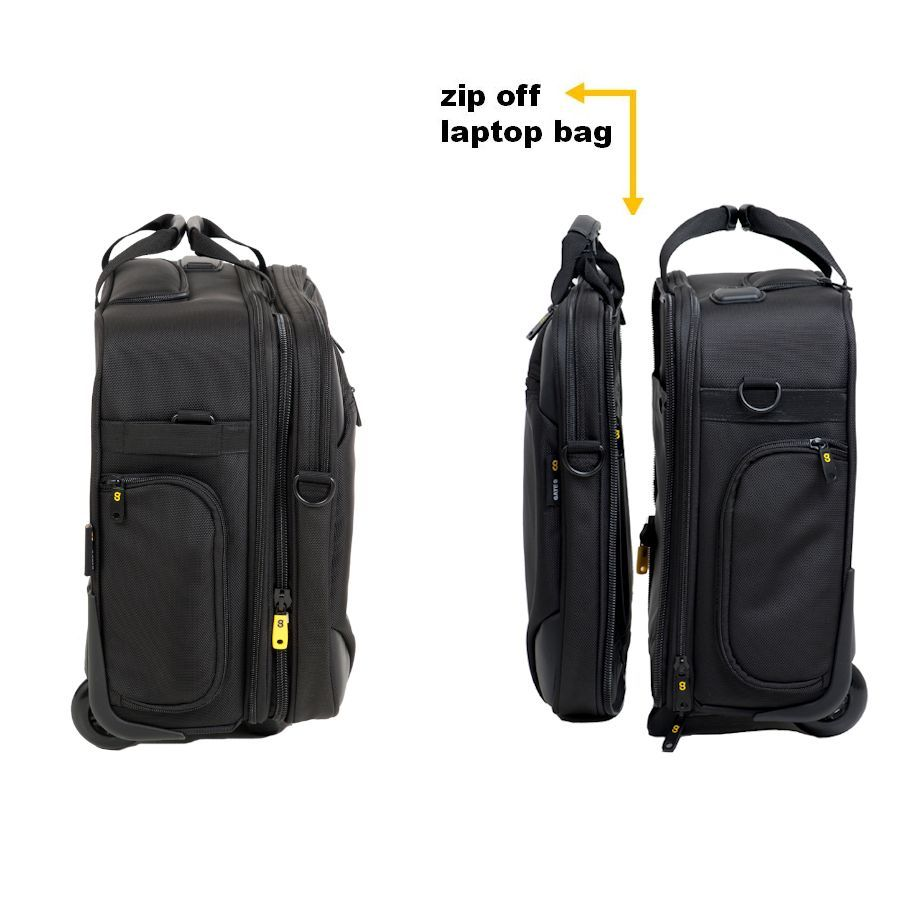 Wheeled Cabin Luggage 2 In 1 Carry On Hand Luggage Case Hand Luggage Case Bags Cabin Bag
