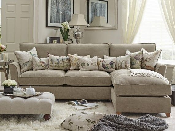 The Bistrow Right Chaise Storage Sofa Bed Willow