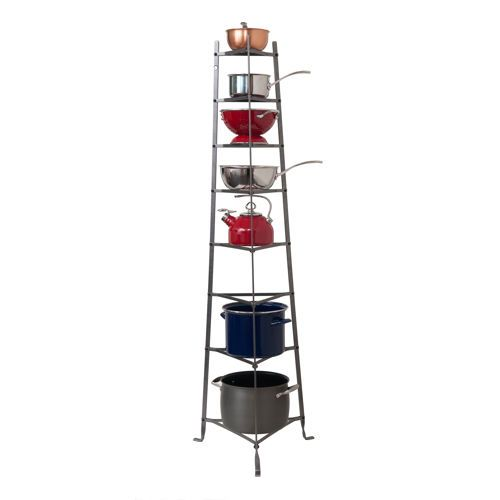 Clothes Drying Rack Costco Enclume Knocked Down Premier 8Tier Cookware Stand  New House Decor