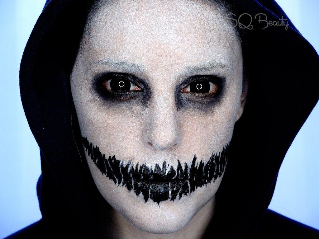Maquillaje de halloween Maquillaje de fantasma
