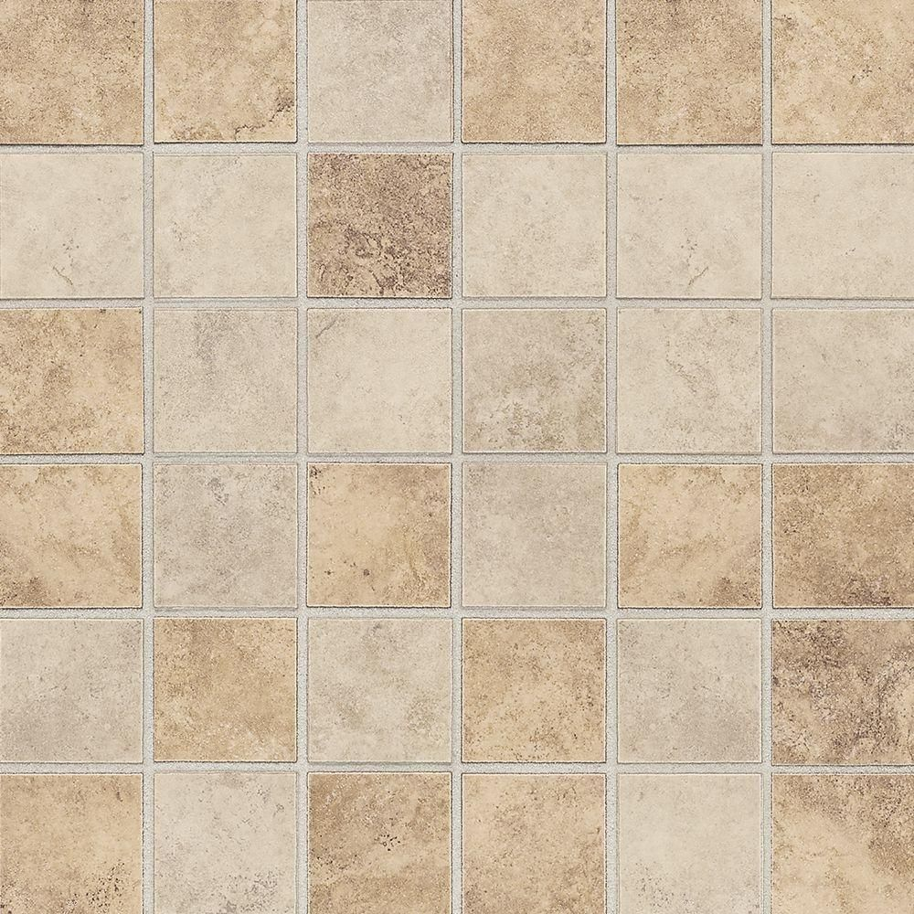 Daltile Rio Mesa Desert Sand 12 In X 12 In X 8 Mm Ceramic Mosaic Floor And Wall Tile Rm1022cc1p2 The Home Depot Ceramic Mosaic Tile Mosaic Flooring Daltile