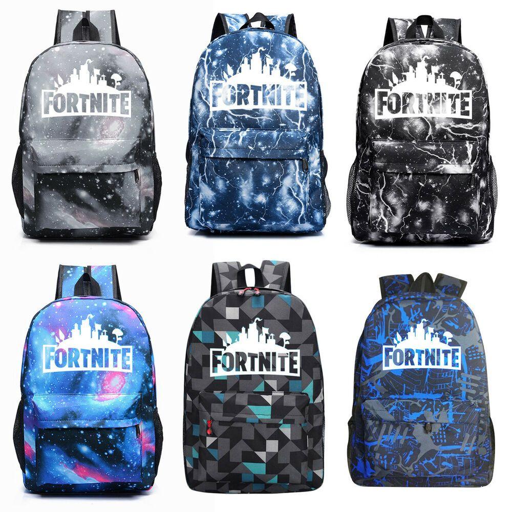 Boy Teenager Fortnite Battle Royale Backpack Rucksack