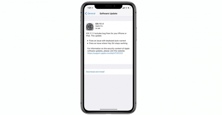 iOS 11.1.1 Released, Bug Fixes + Features & Changes