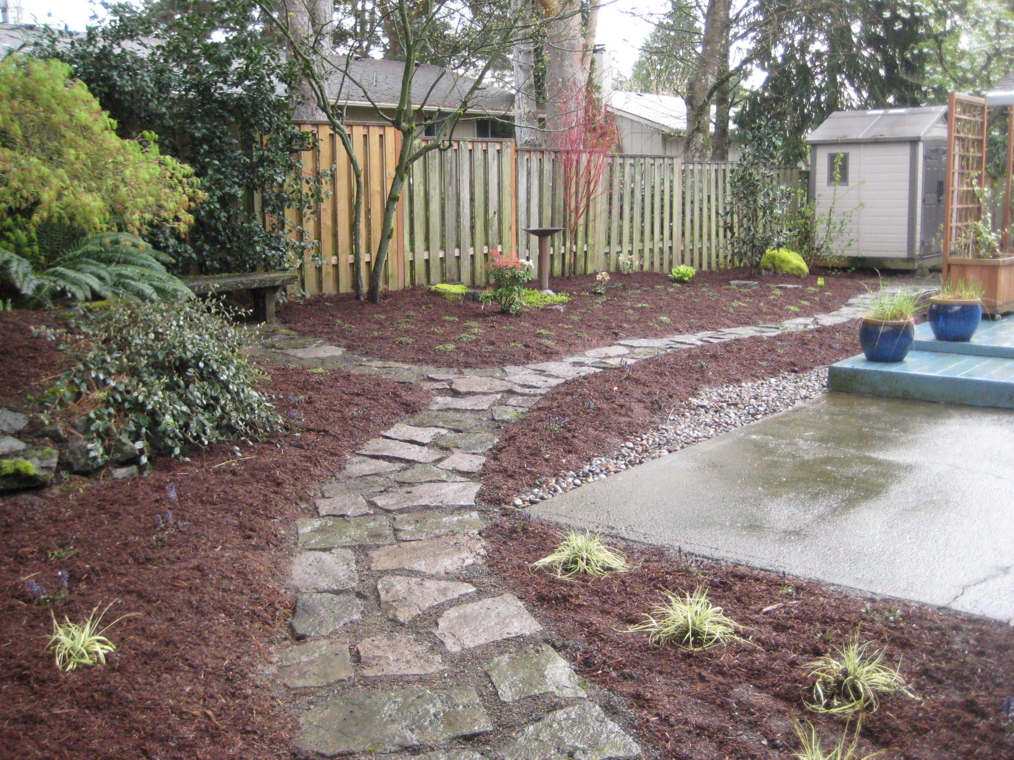 Backyard Ideas Without Grass For Dogs - thorplc.com | No ... on Cheap Backyard Ideas No Grass  id=94372