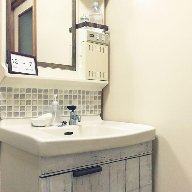 目指せ 生活感0 毎日つかう 洗面所 のインテリア術5選 洗面所