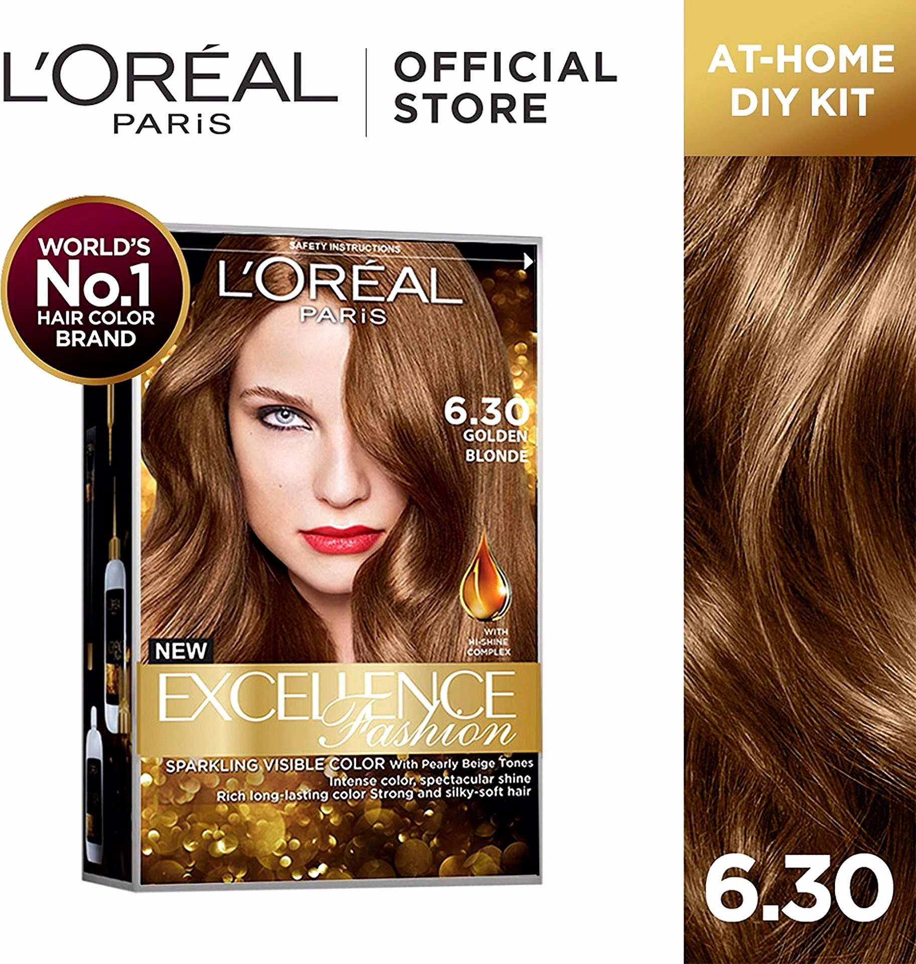 L Oreal Paris Excellence Fashion Parisian Gold World S No 1 Lazada Ph In 2020 Loreal Hair Loreal Hair Color