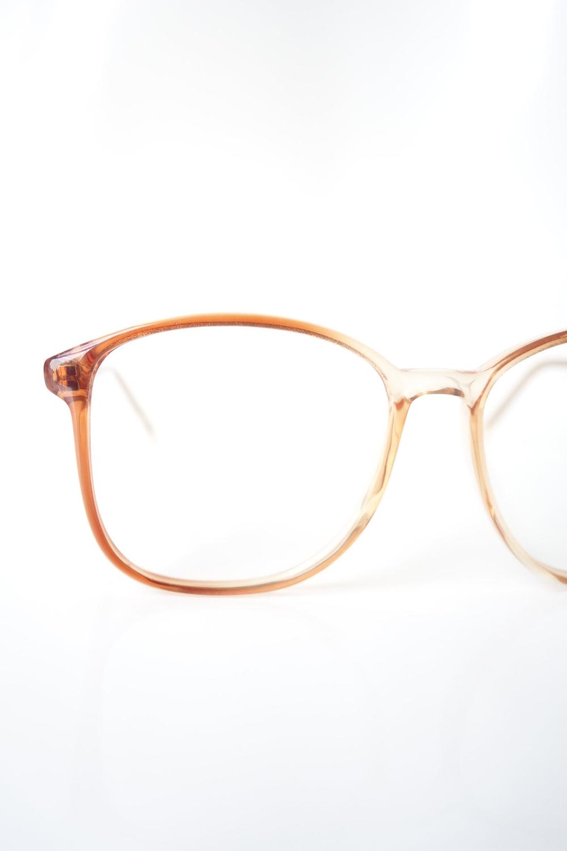 Vintage Light Brown Clear Wayfarer Glasses Womens Oversize Deadstock Wayfarer Eyeglass Frames Light Fawn Clear Brown In 2021 Wayfarer Glasses Wayfarer Glasses Women Glasses