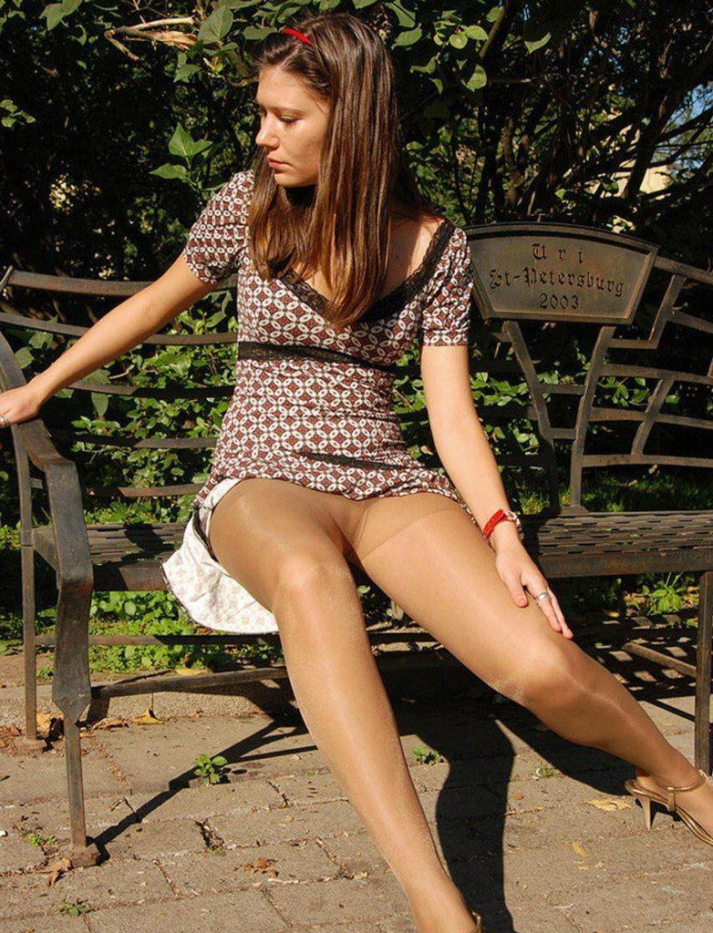 Hose outdoor pantie teen phrase