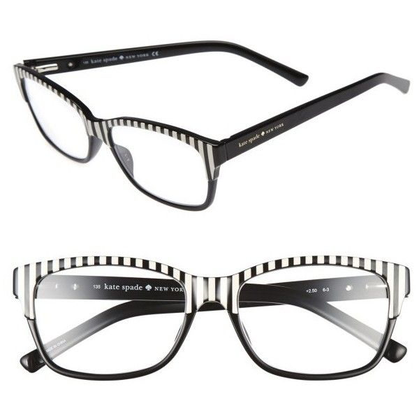 65203f93c135 Women's Kate Spade New York Tenil 52Mm Reading Glasses ($68) ❤ liked on  Polyvore
