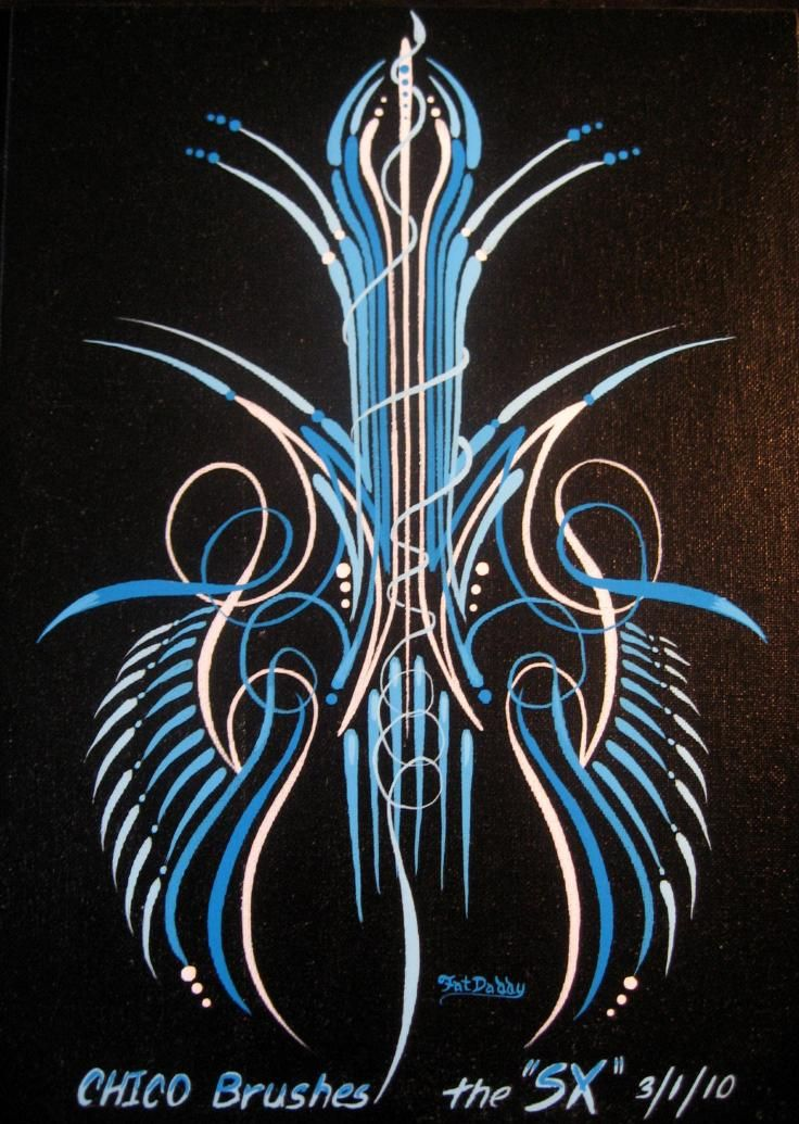 Auto Pinstriping Paint