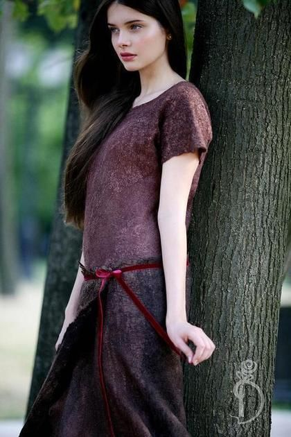 Валяное платье «Dream on».