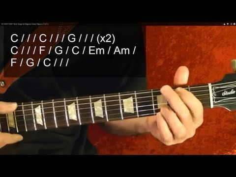 25 Easy Easy Rock Songs For Beginner Guitar Players 3 Of 3 Youtube Beatles Guitar Guitar Lessons For Beginners Fingerstyle Guitar Lessons