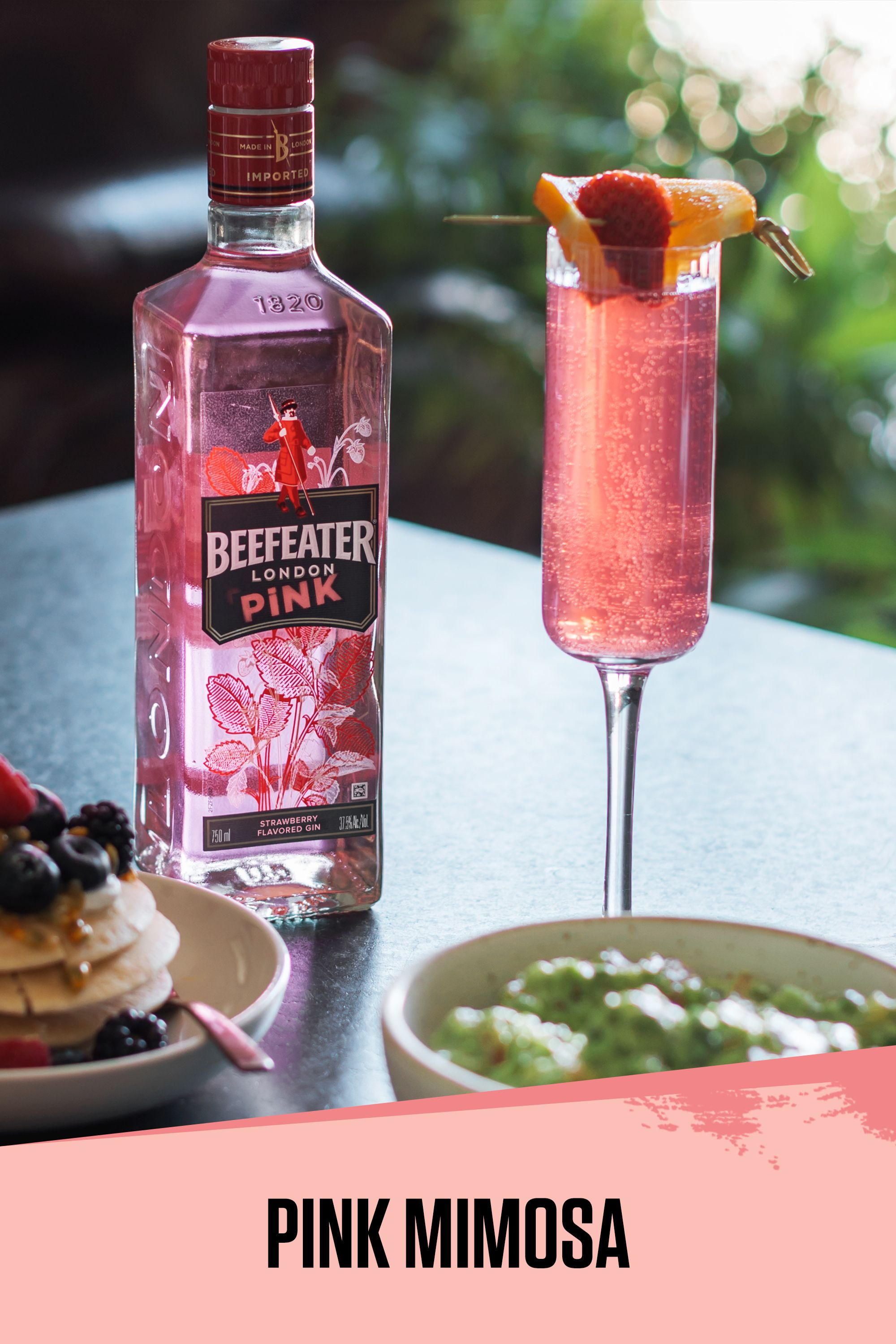 Rethink Your Holiday Drink With The Beefeater Pink Mimosa