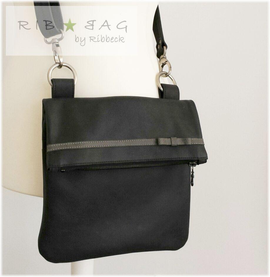 Ledertasche Umhängetasche Leder Handtasche graue   Taschen