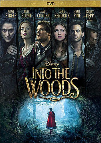 Disney S Into The Woods The Movie Musical Dvd Musical Movies Into The Woods Movie Meryl Streep