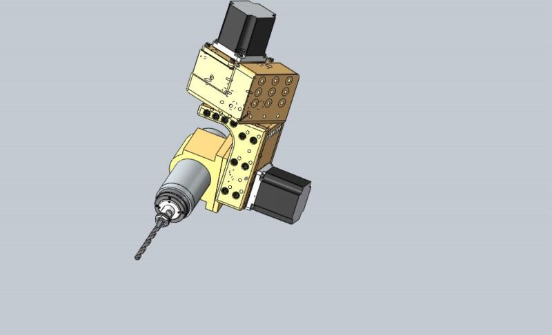 5 AXIS CNC HEAD FOR CNC 6040 - 6090 ROUTER
