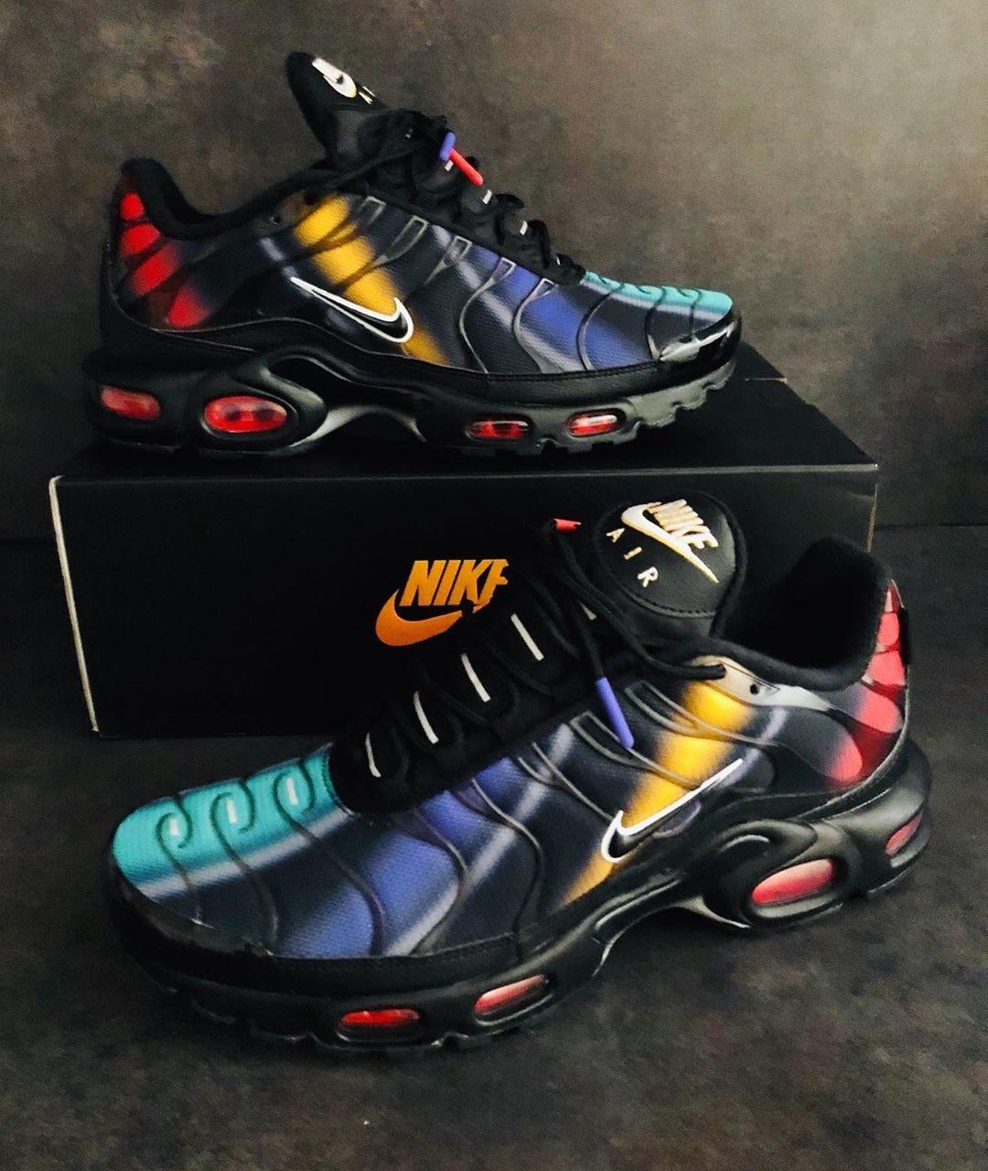 new high save up to 80% no sale tax Air max plus Rainbow 2019 thanks #nike ...