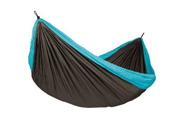 КОЛИБРИ 2 в 1 компактен двоен хамак и плажно одеяло
