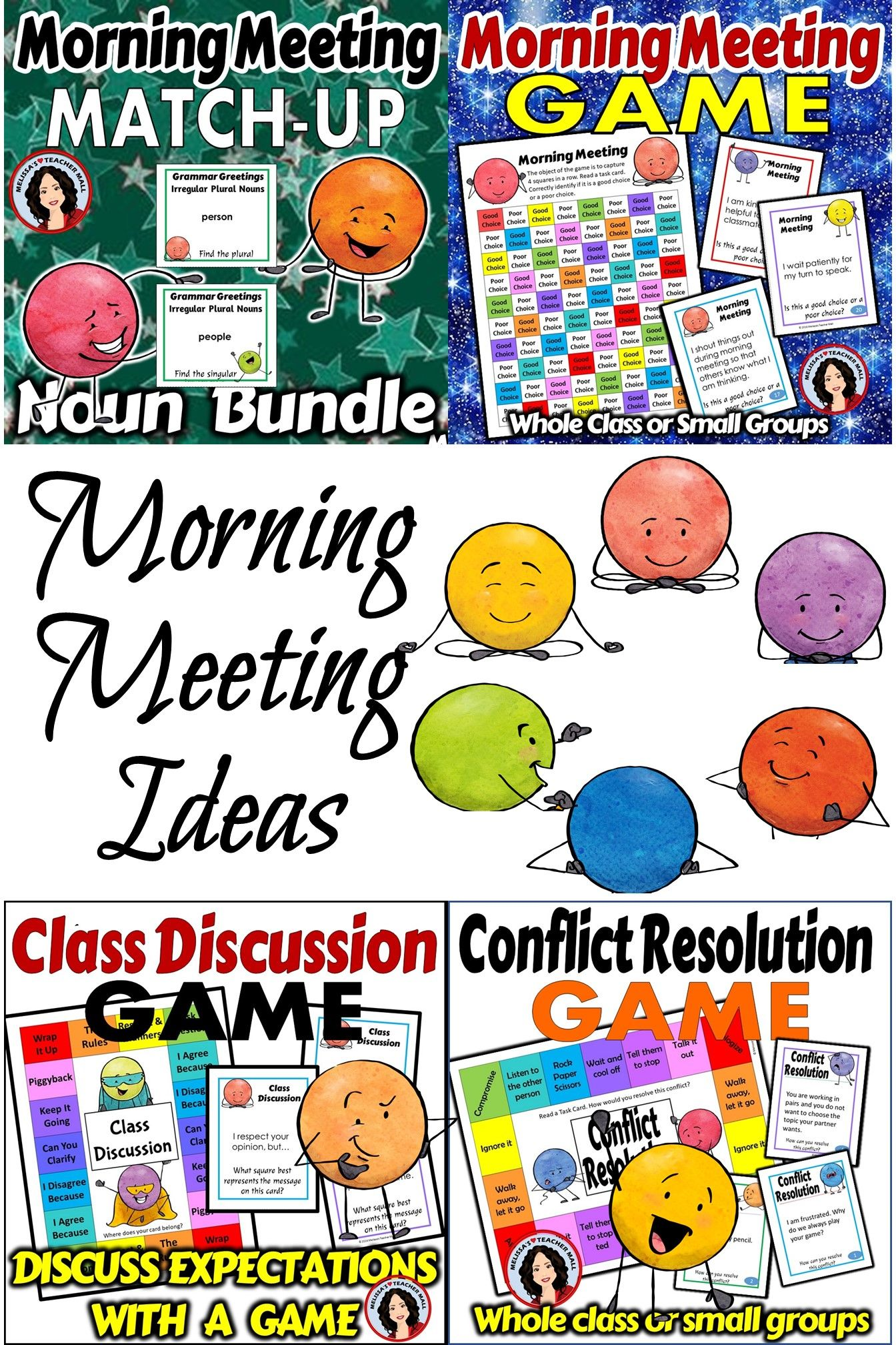 Morning Meeting Games Are A Fun Way To Practice And