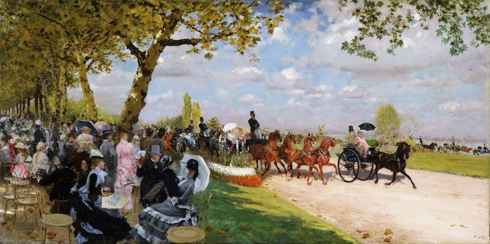 Giuseppe De Nittis - Ritorno dalle corse