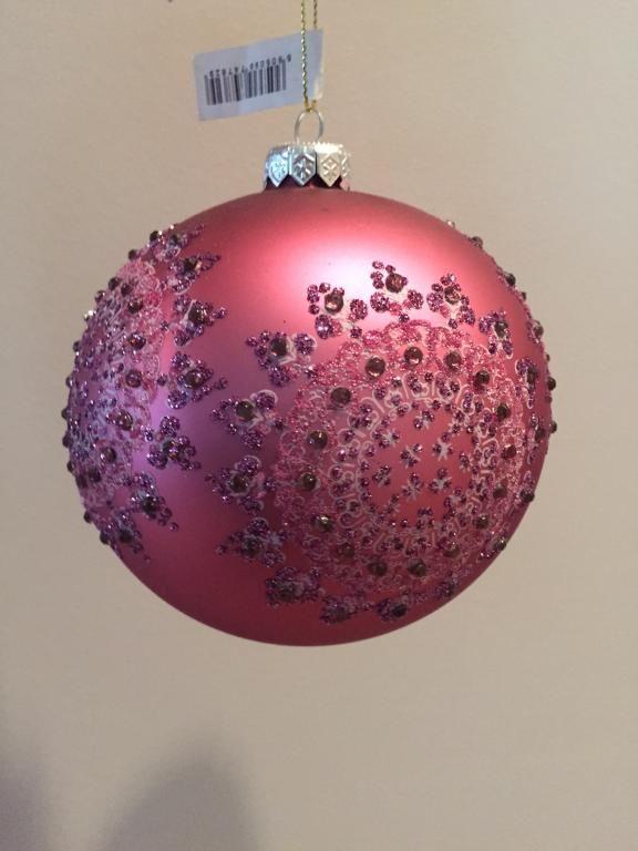 Almi Decor Mystery Duze Zdobione Bombki Fiolet 4865899354 Oficjalne Archiwum Allegro Christmas Bulbs Decor Christmas Decorations